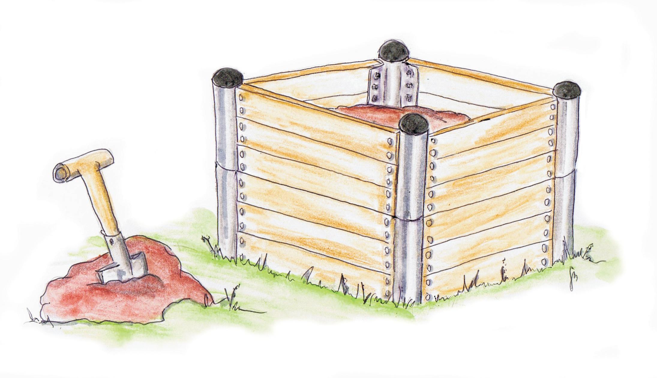 Hochbeet Bauanleitung