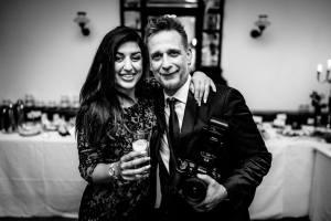 Mitra und Torben Podcaster auf einer Hochzeit