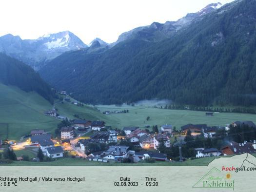 Riva di Tures - Vista sul Monte Collalto (Hochgall)