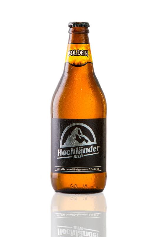 Botella Cerveza Hochländer Golden