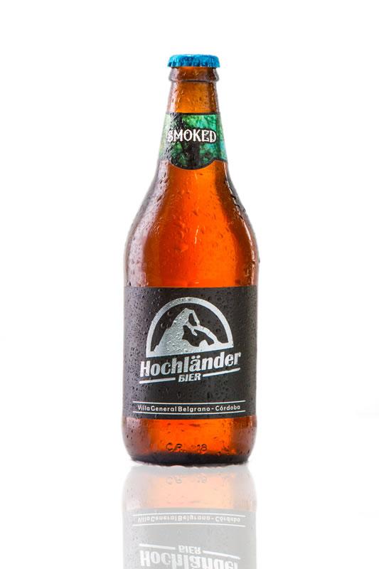 Botella Cerveza Hochländer Smoked
