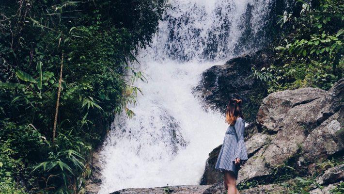 Wasserfälle in Chiang Mai, Thailand, besondere Orte in Thailand, Chiang Mai Sehenswürdigkeiten, Thailand Rundreise, die schönstenn Wasserfälle