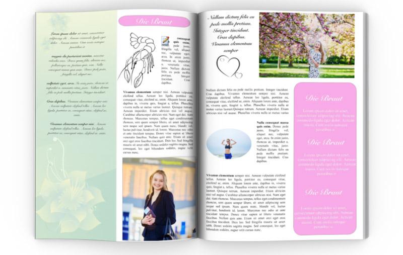 Vorlage fr Hochzeitszeitung