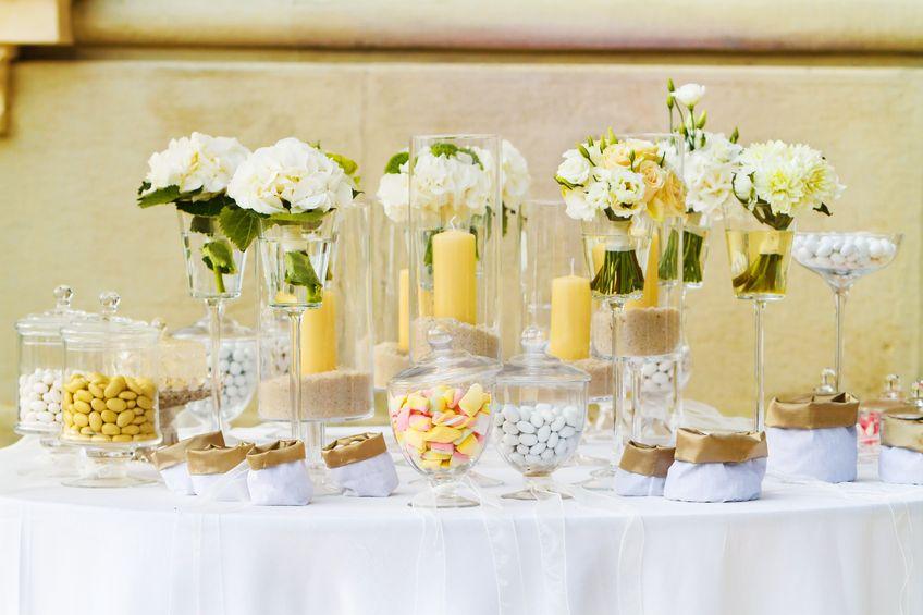 Candy Bar fr die Hochzeit  Hochzeit in Italien