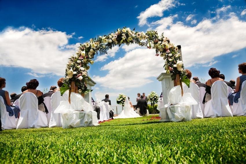 Hochzeit im Freien  Freie Hochzeit  Trauung im Freien