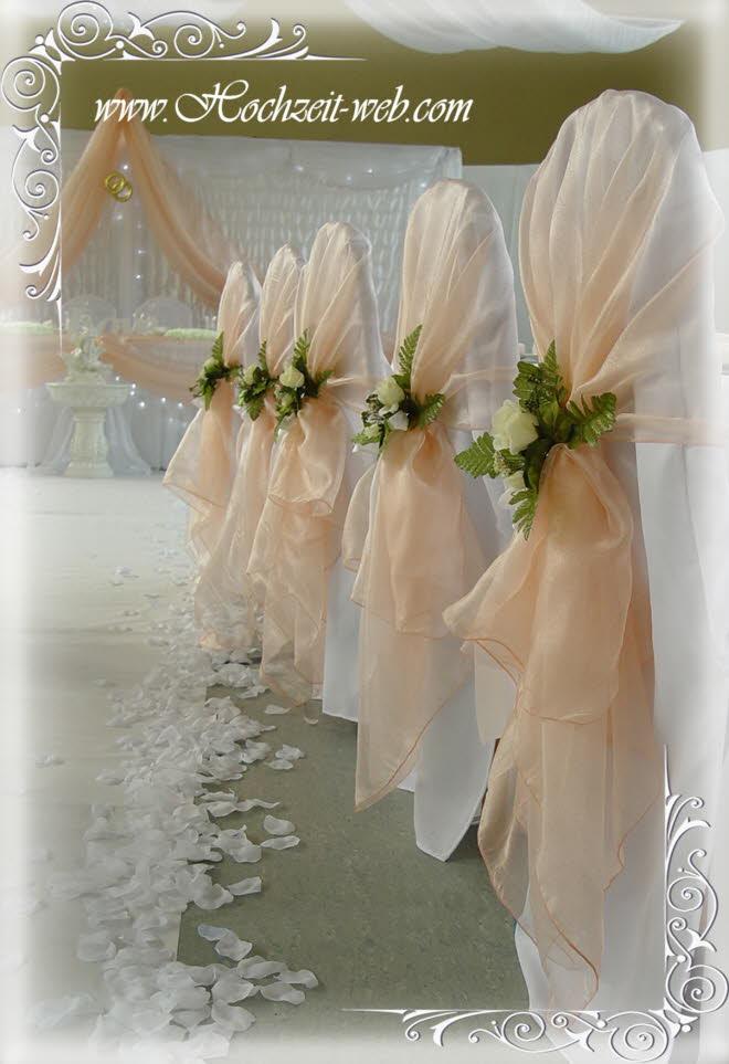 Stetch Stuhlhussen fr Ihre Hochzeitsdeko