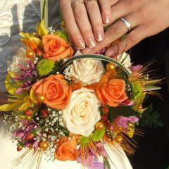 Brautstrau in Bayern  Brautstrauss Hochzeitsstrau Blumenladen Hochzeitsblumen Mnchen