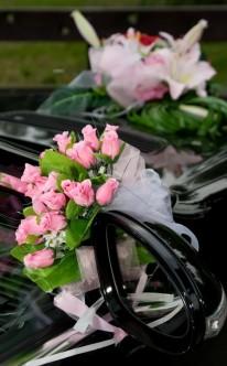 Autoschmuck zur Hochzeit Ideen fr Autodeko zur Hochzeit