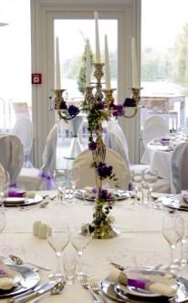 Hochzeit Tischdeko Elegant  Hochzeit