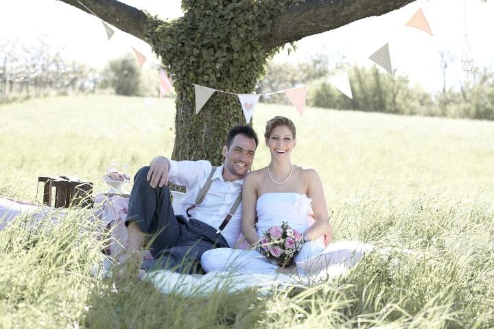 Blumen Hochzeit England