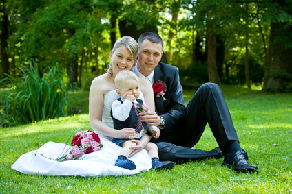 Hochzeit als Traufe feiern Tipps frs Heiraten mit Taufe  Hochzeitcom