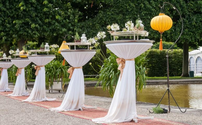 Hochzeitsempfang  Ideen fr Snacks und Getrnke
