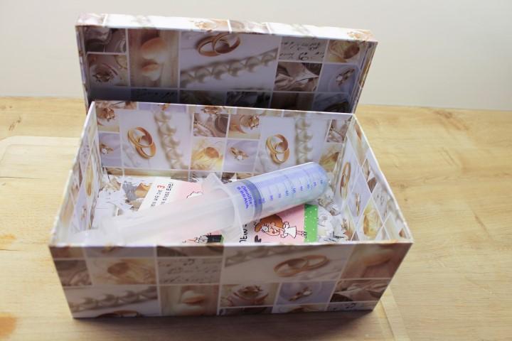 Hochzeitsgeschenk Eine Finanzspritze fr das Eheleben