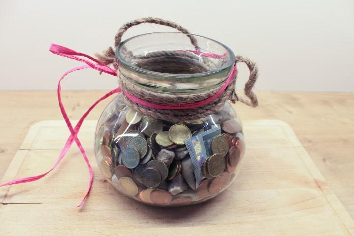 Hochzeitsgeschenk Ein Topf voll Glck und Geld