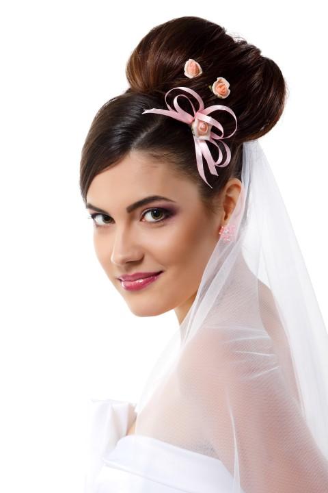 Brautfrisur Hoher Dutt