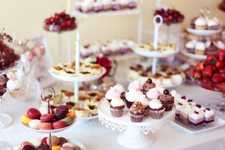 Candy Bar Sigkeiten zur Hochzeit