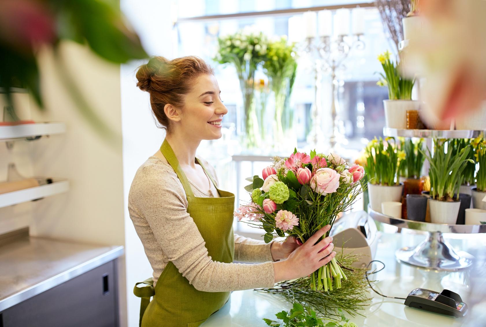 Wie finde ich einen guten Floristen fr den Brautstrau