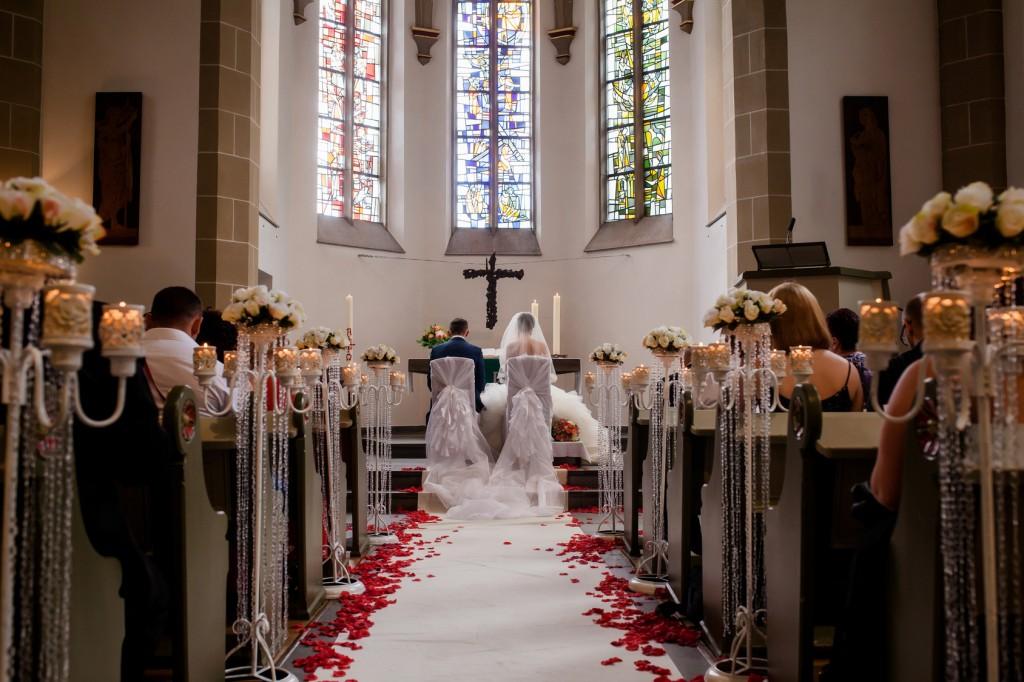 Braut Brautvater Kirche