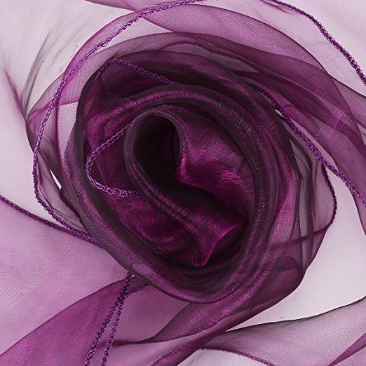 Stuhlschleifen violett  Hochzeitsdekoration