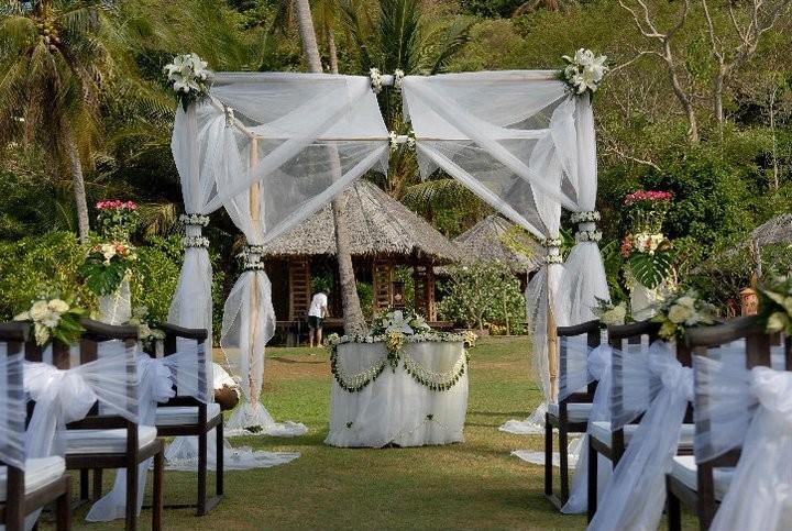 Hochzeiten am Strand  Im Schatten der Palmen das JaWort