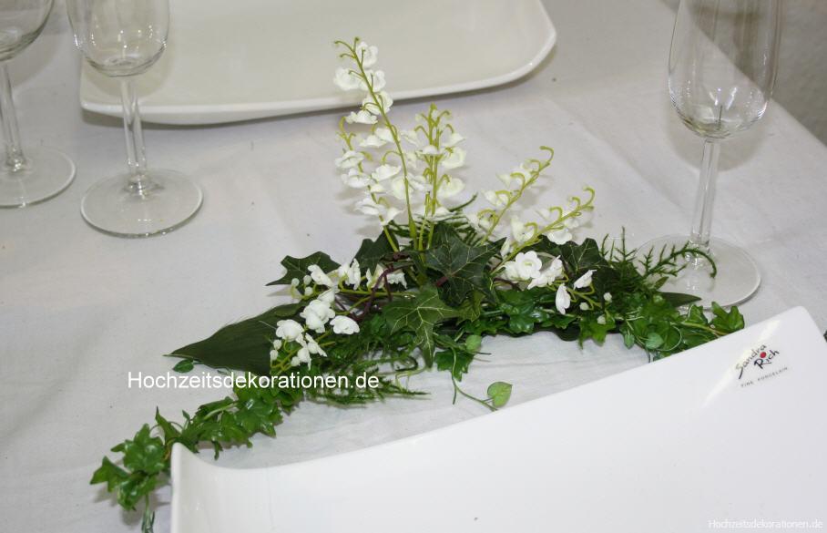 Komplettdeko Maigloeckchen  Hochzeitsdekorationen