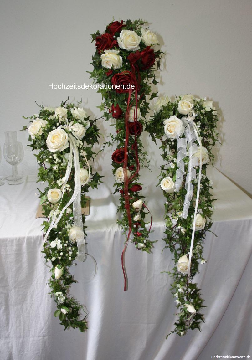 Brautstrauss langer Wasserfall  Hochzeitsdekorationen