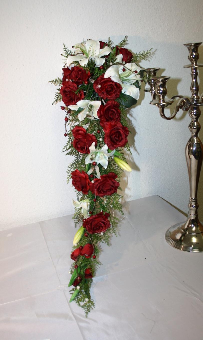 Brautstrauss Lilien extra lang  Hochzeitsdekorationen