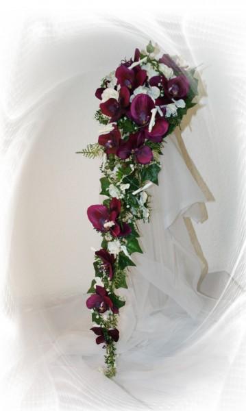 Brautstrauss Orchideentraum  Hochzeitsdekorationen