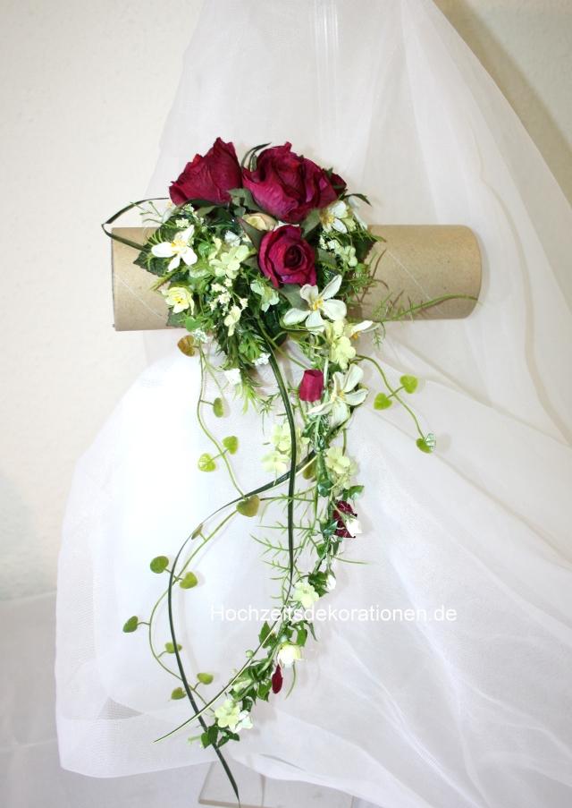 Brautstrauss Handgelenk Pink  Hochzeitsdekorationen