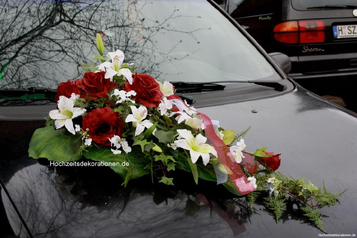 Autoschmuck Lilien modern  autoschmuck Lilien modern