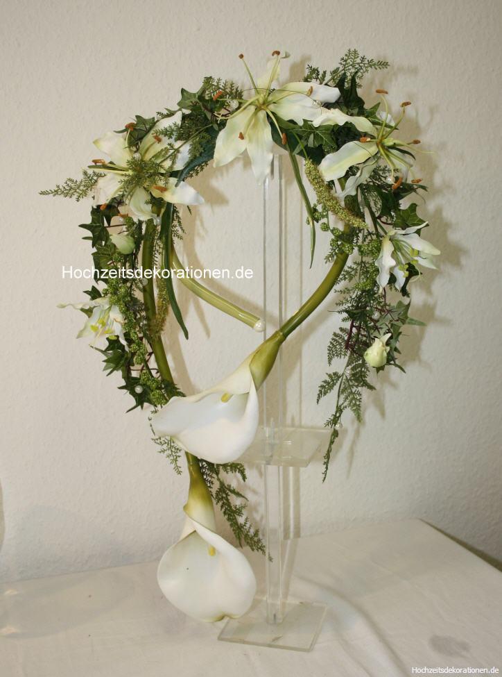 Brautstrauss Armstrau Calla  Hochzeitsdekorationen
