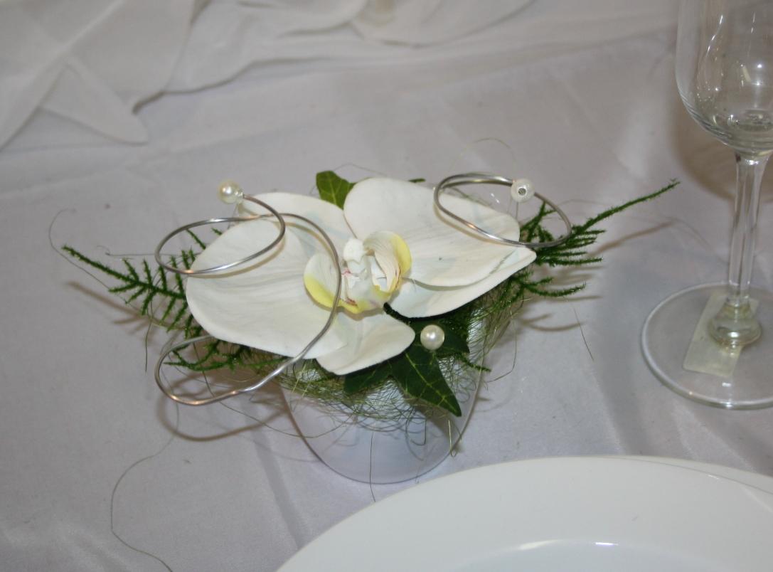 Orchidee im Topf Hochzeitsdeko  Hochzeitsdekorationen