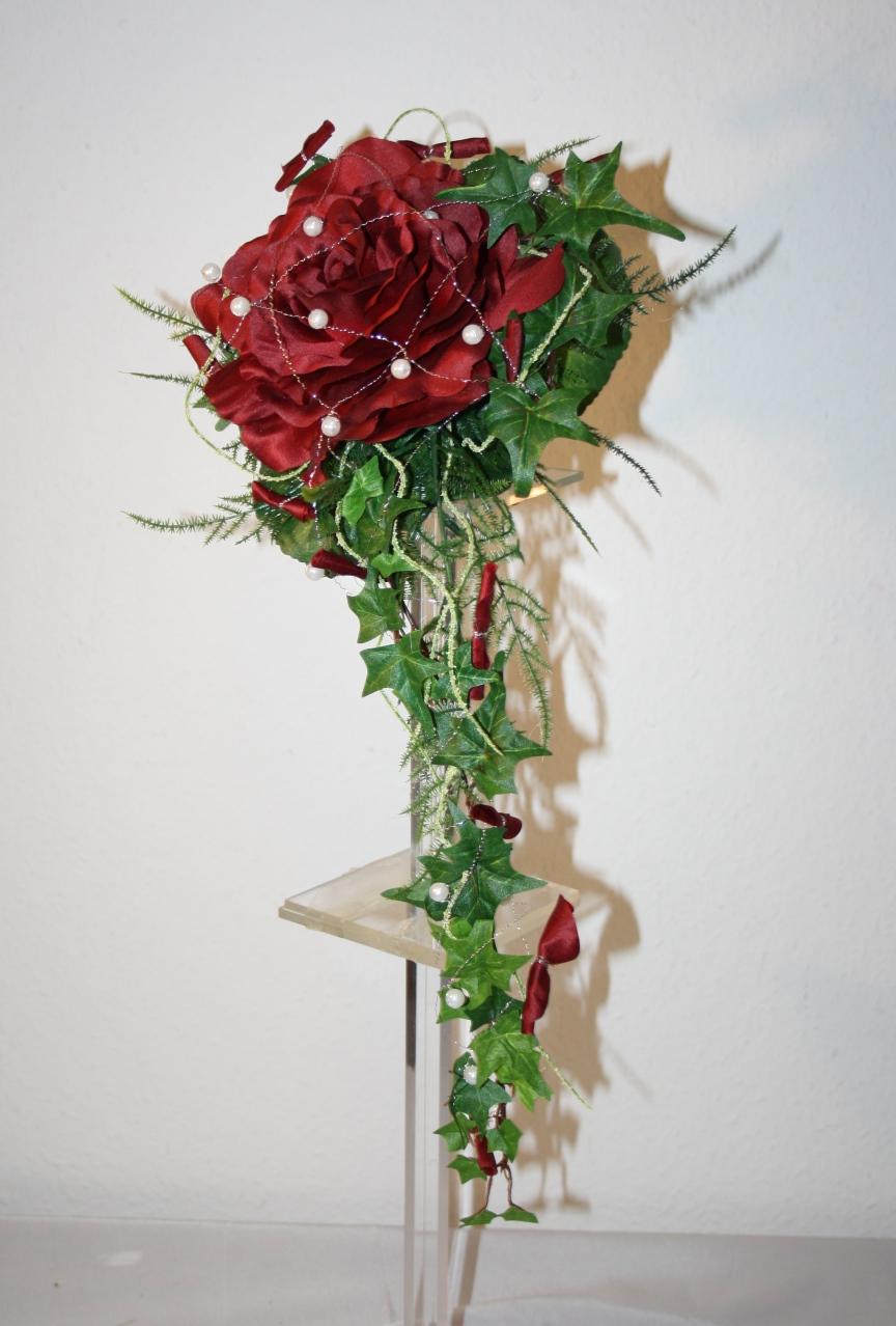Brautstrauss 1 Rosenblte  Hochzeitsdekorationen
