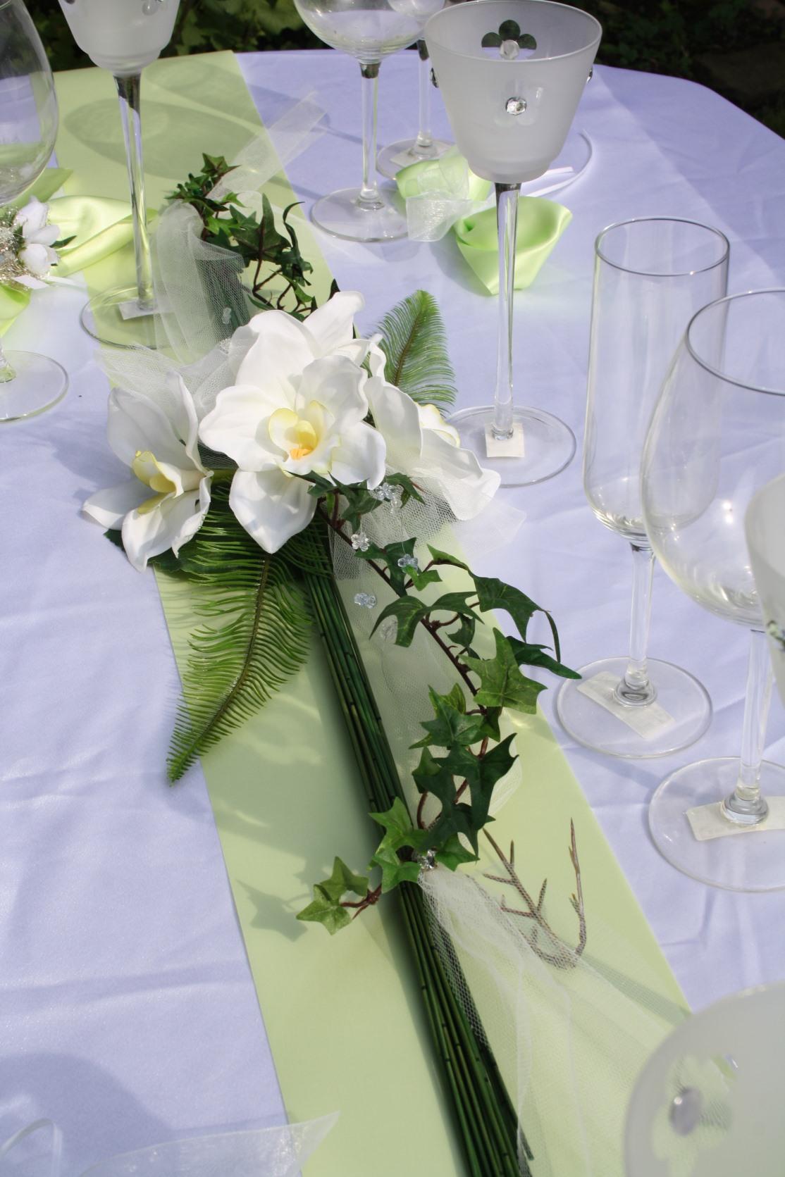 Tischdeko Cymbidium Orchidee  Hochzeitsdekorationen