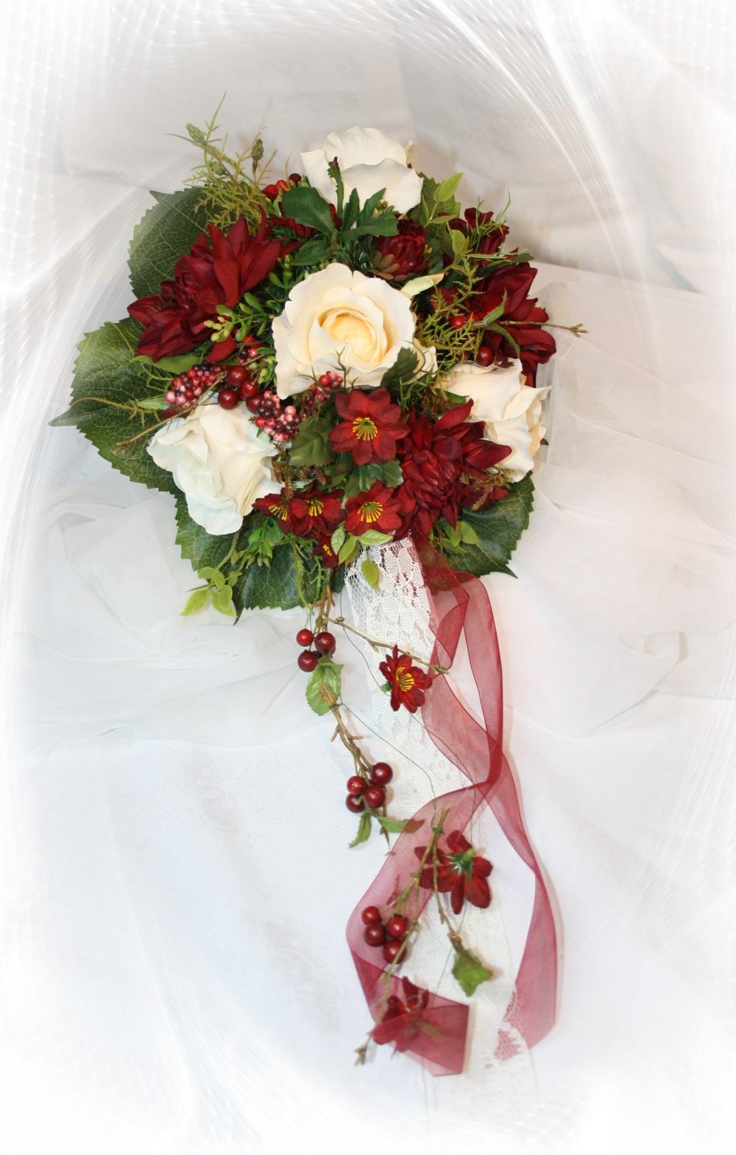 Brautstrauss Herbst Dahlie  Hochzeitsdekorationen