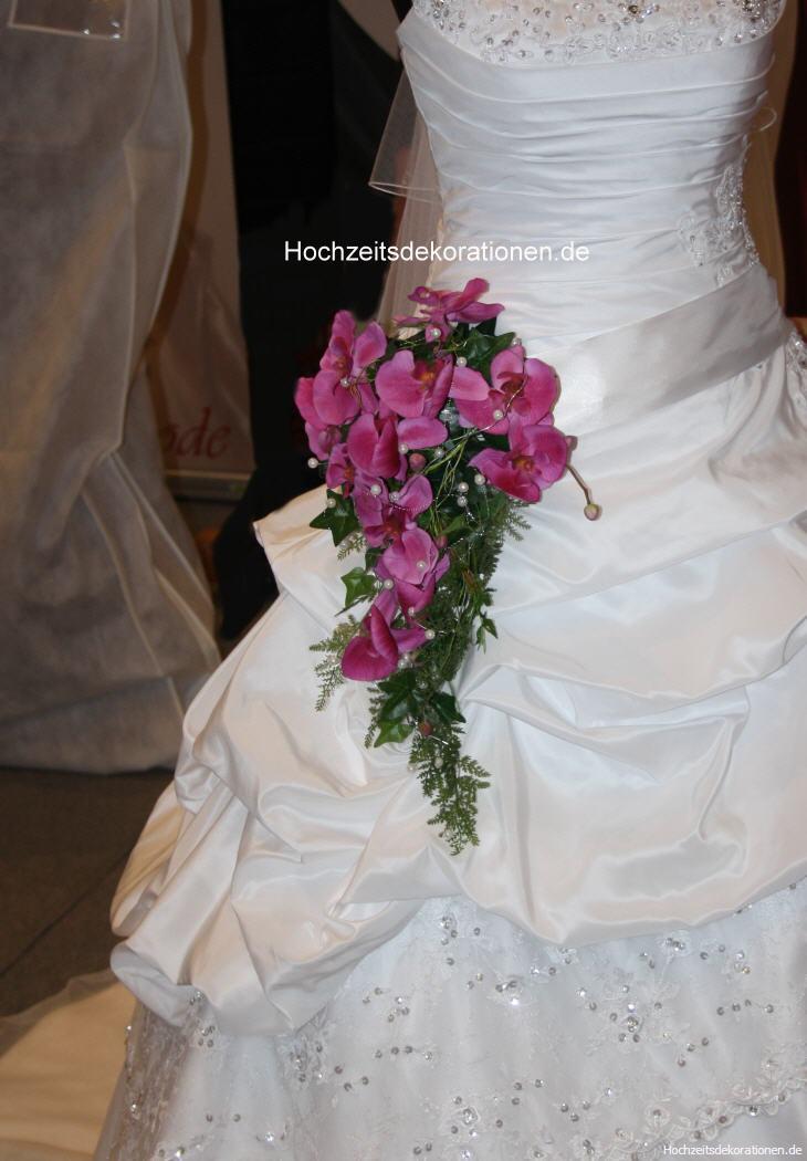 Brautstrauss Taillenstrauss  Hochzeitsdekorationen