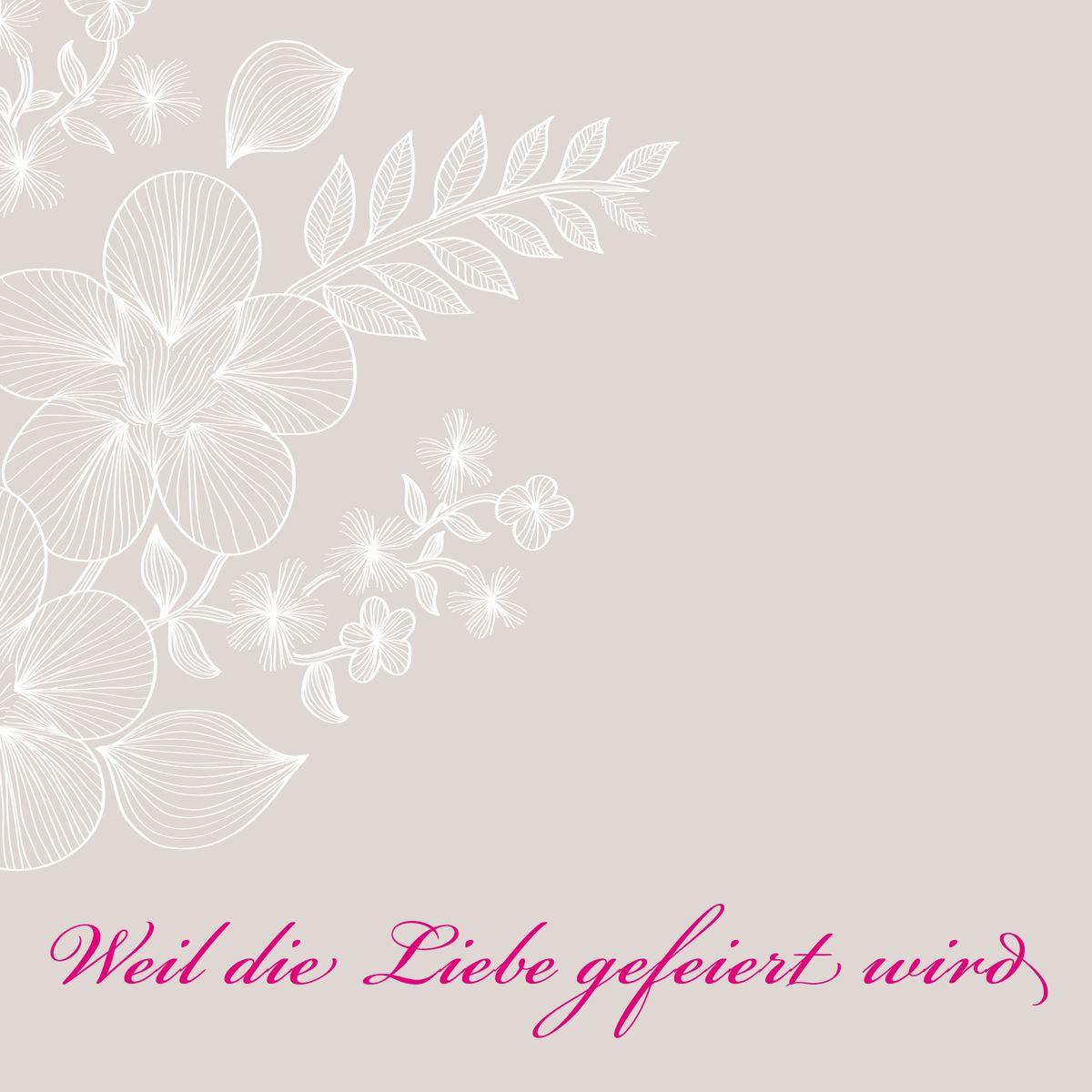 Einsteck Kuverts Weil Lieben Leben Heisst