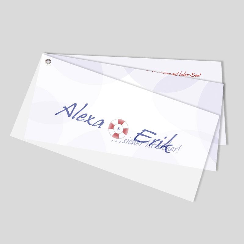 Fcher Hochzeitseinladung  senkarte  Rettungslos