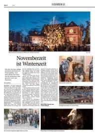 Presseartikel zur Veranstaltung Winterszeit in Eyrichshof