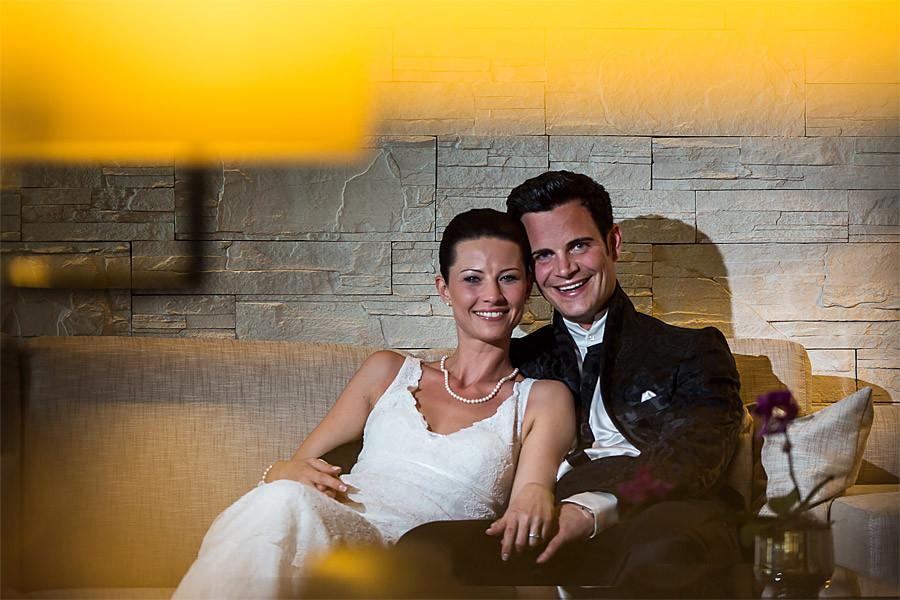 Christa und Jrgen heiraten auf der Burg Schwarzenstein im