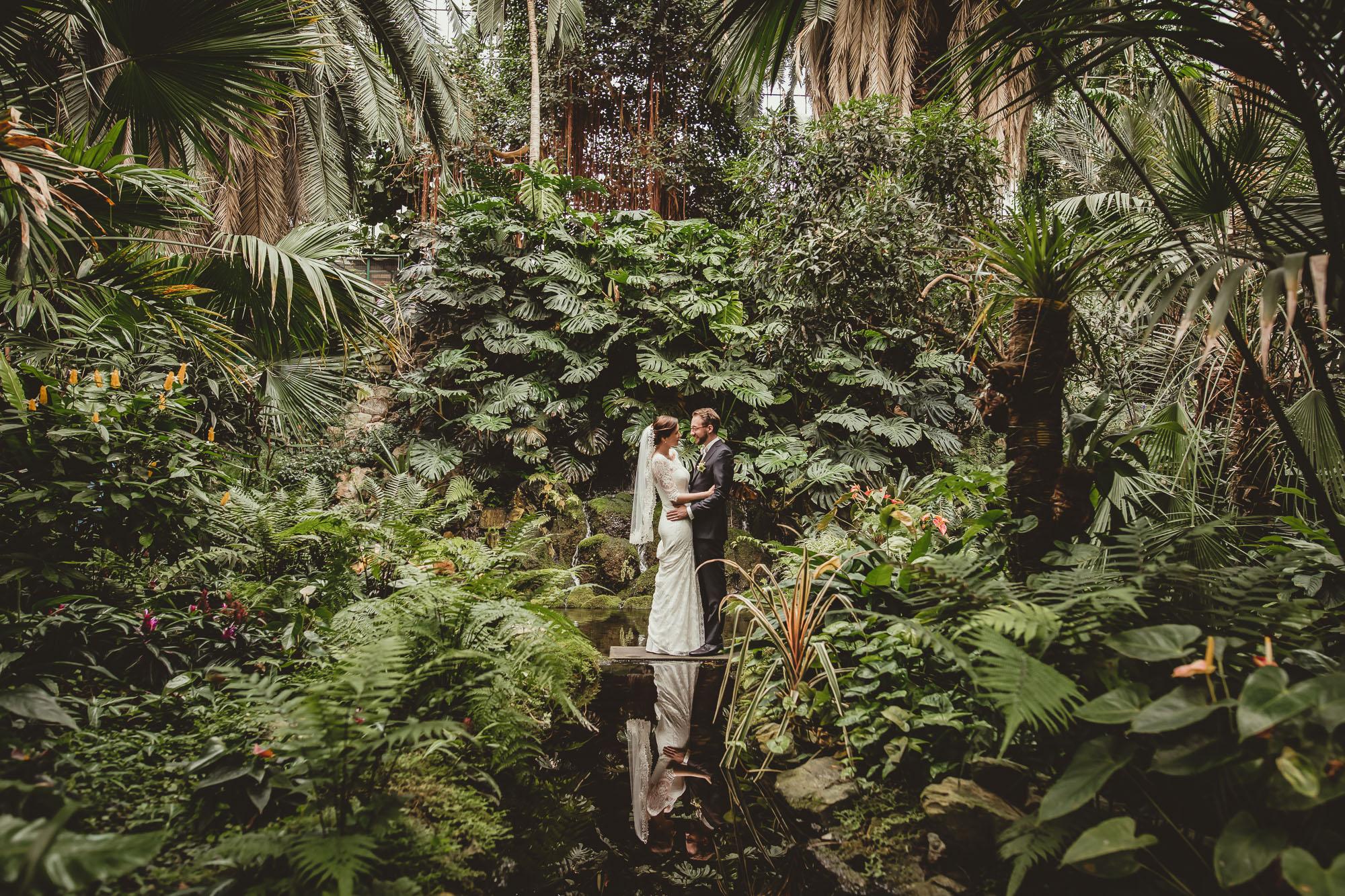 Hochzeit Frankfurt im Palmengarten und Ruderclub Germania