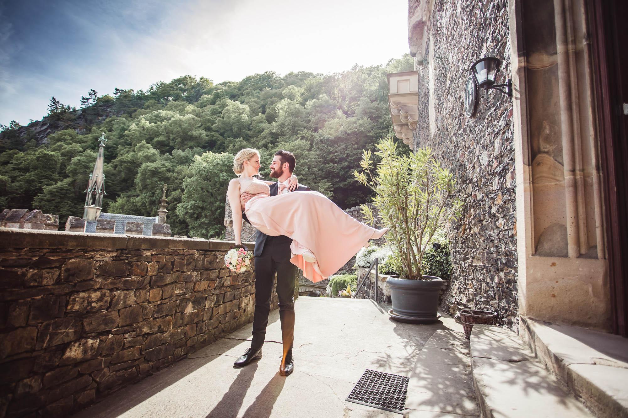 Hochzeit auf Burg Rheinstein  Hochzeitsfotograf Thomas Hundt