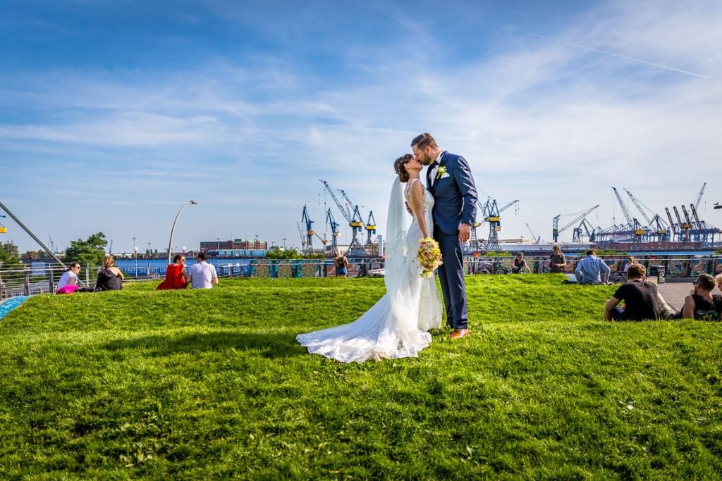 Fotograf Hochzeit Hamburg Elbe