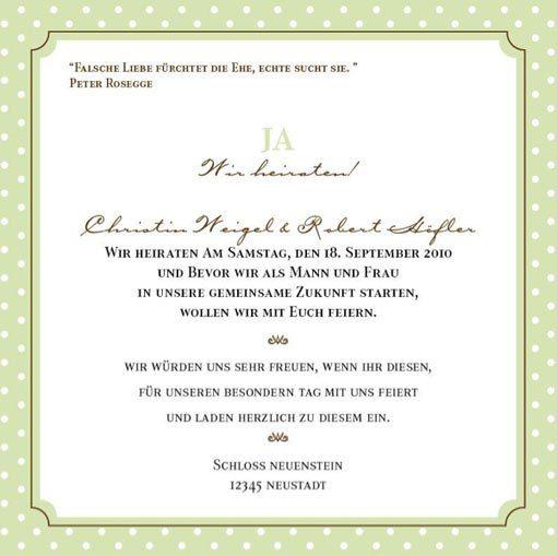 Anregungen fr eure Hochzeitseinladungstexte  Hochzeitsguide