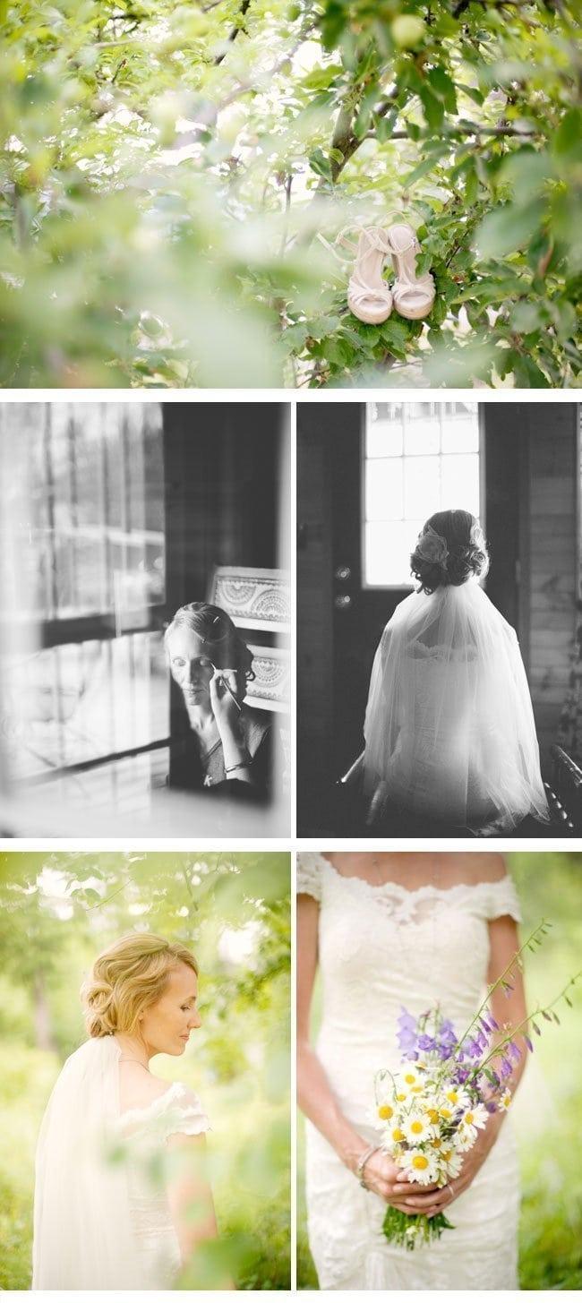 Hochzeit im Freien mit Kristi und Jacob von Rebecca Hollis