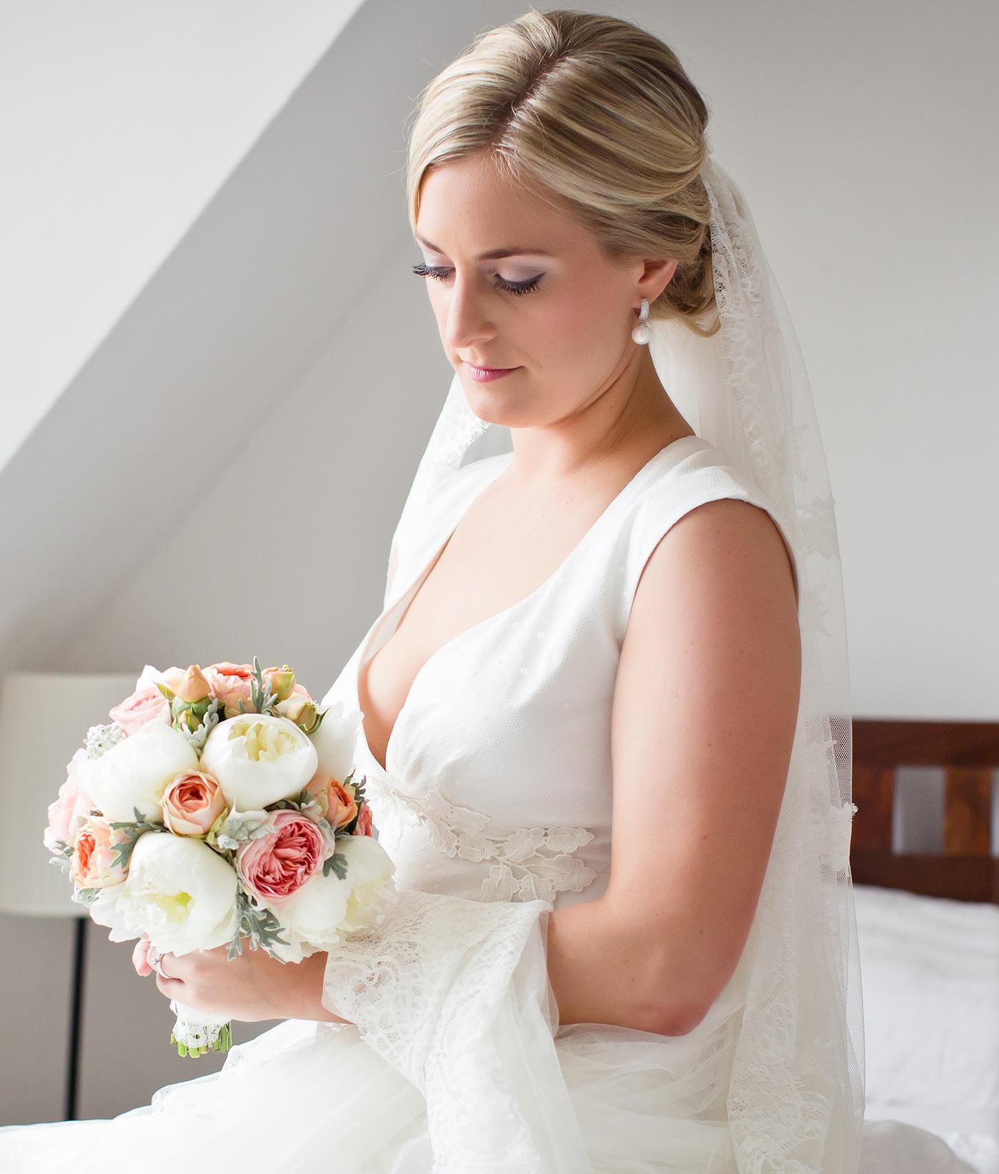 Brautstyling im wunderschnen Rheingau  Die Hochzeitsmacher