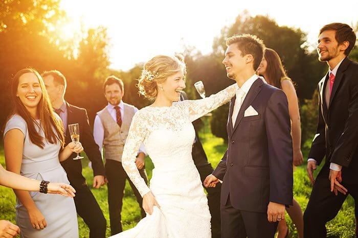 Hochzeitsgast Tanzen