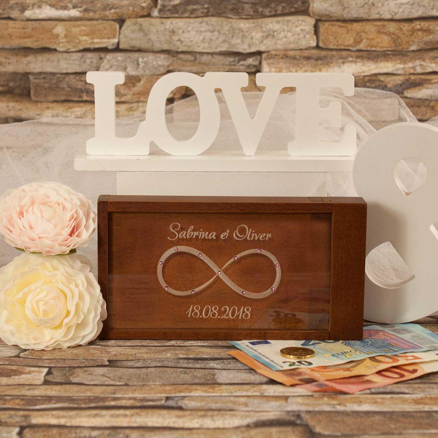 Geldgeschenk zur Hochzeit  Magische Geldgeschenkbox