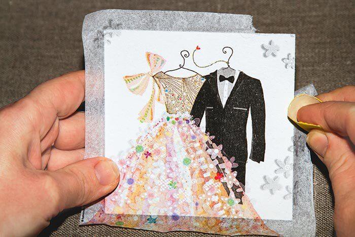 VintageBilderrahmen zur Hochzeit selber basteln I Schritt
