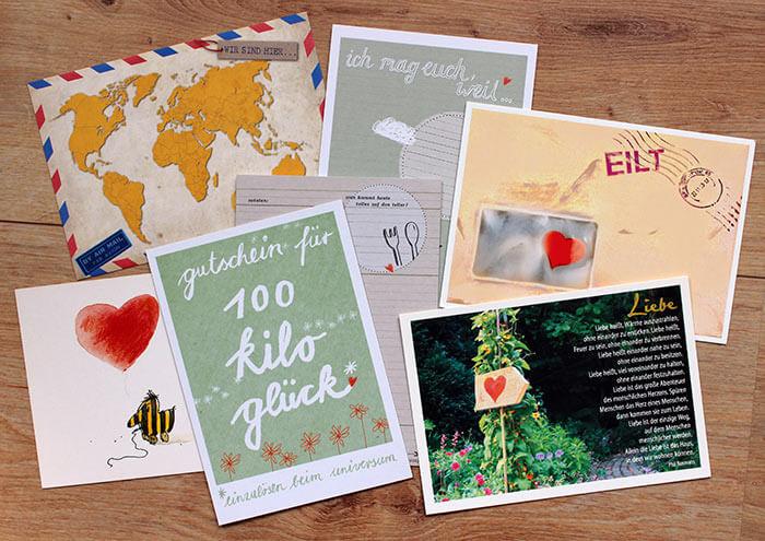 52 Postkarten fr das Brautpaar  Ein Hochzeitsgeschenk
